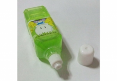 Bottle shape glue