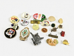 Badges; Pins; Medallion & Tie Clip- Custom Made Design