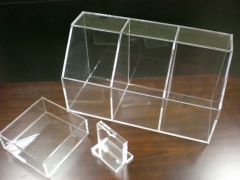Acrylic parts by diamond or laser cutting