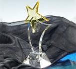 Lazurite Crystal Medal