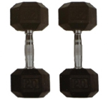 Plastic coated dumbbell